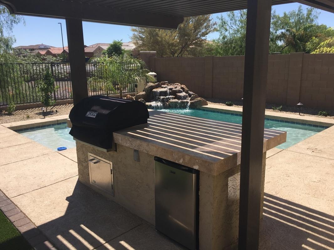 Bbq 39 s for Pool builders queen creek az