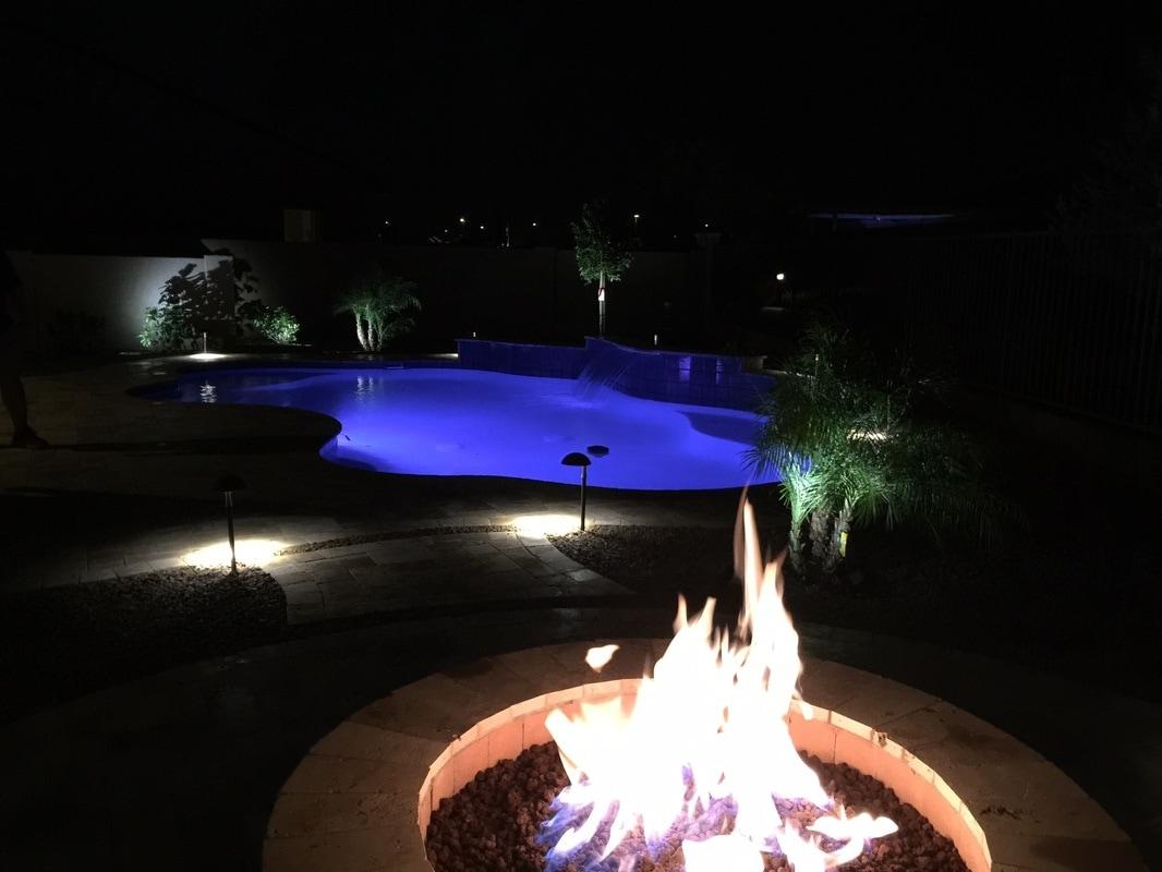 Free Form Desert Soul Landesign Pools Landscape