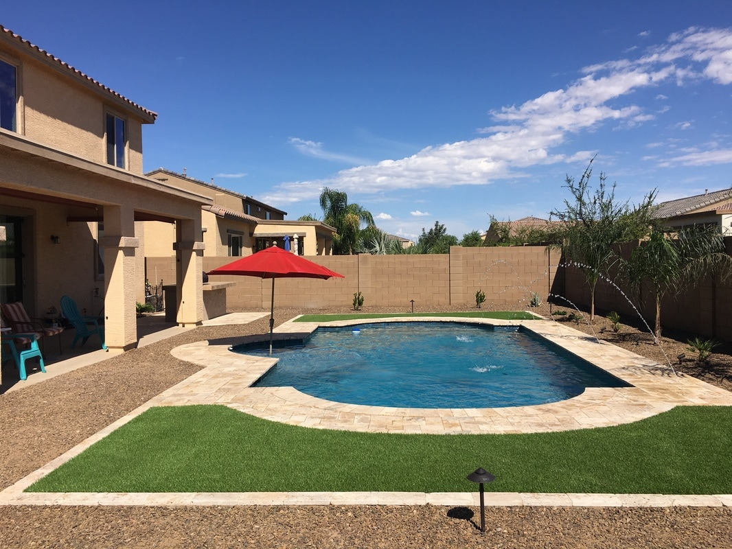22 swimming pool builders queen creek az decor23 for Pool design az