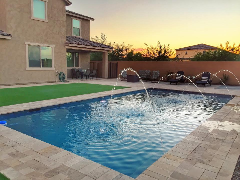 Straight edge for Pool builders queen creek az