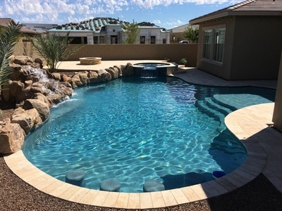 Free form for Pool builders queen creek az