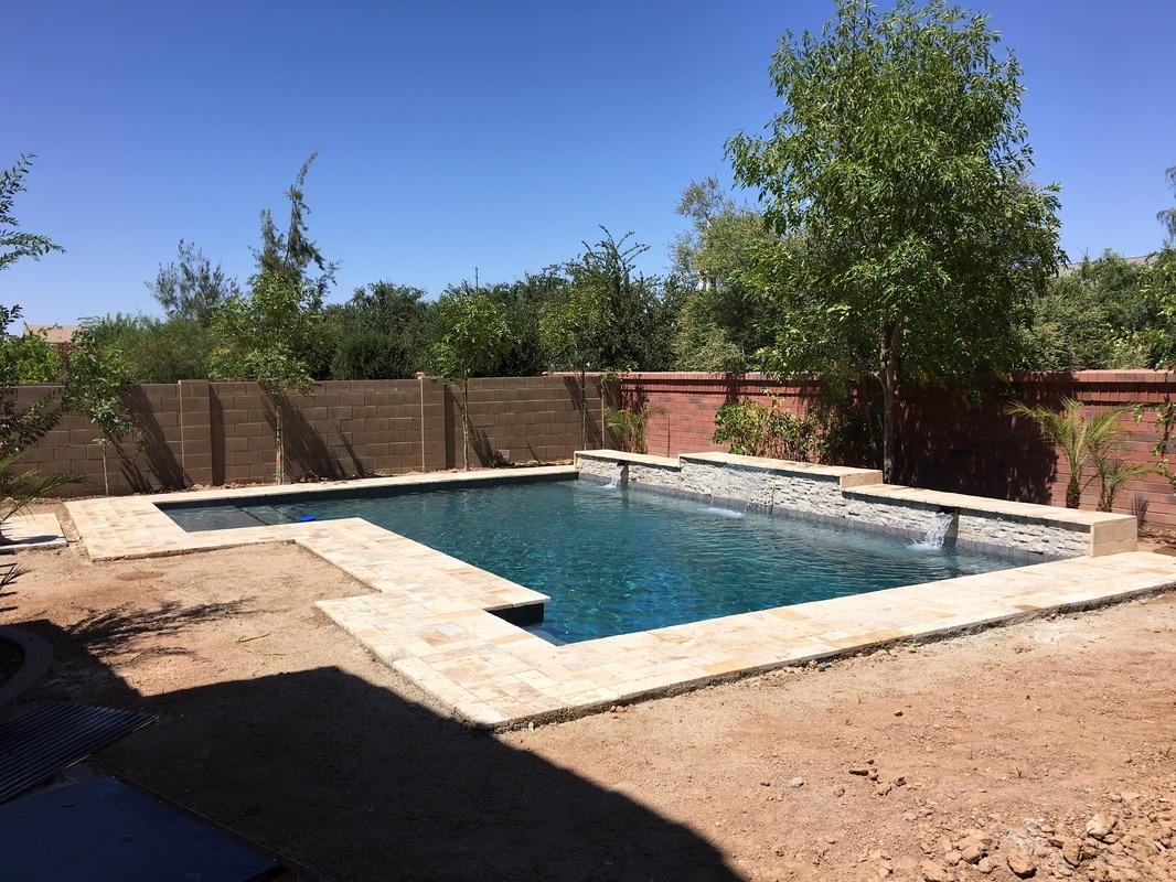 Sheer Descents Desert Soul Landesign Pools Landscape