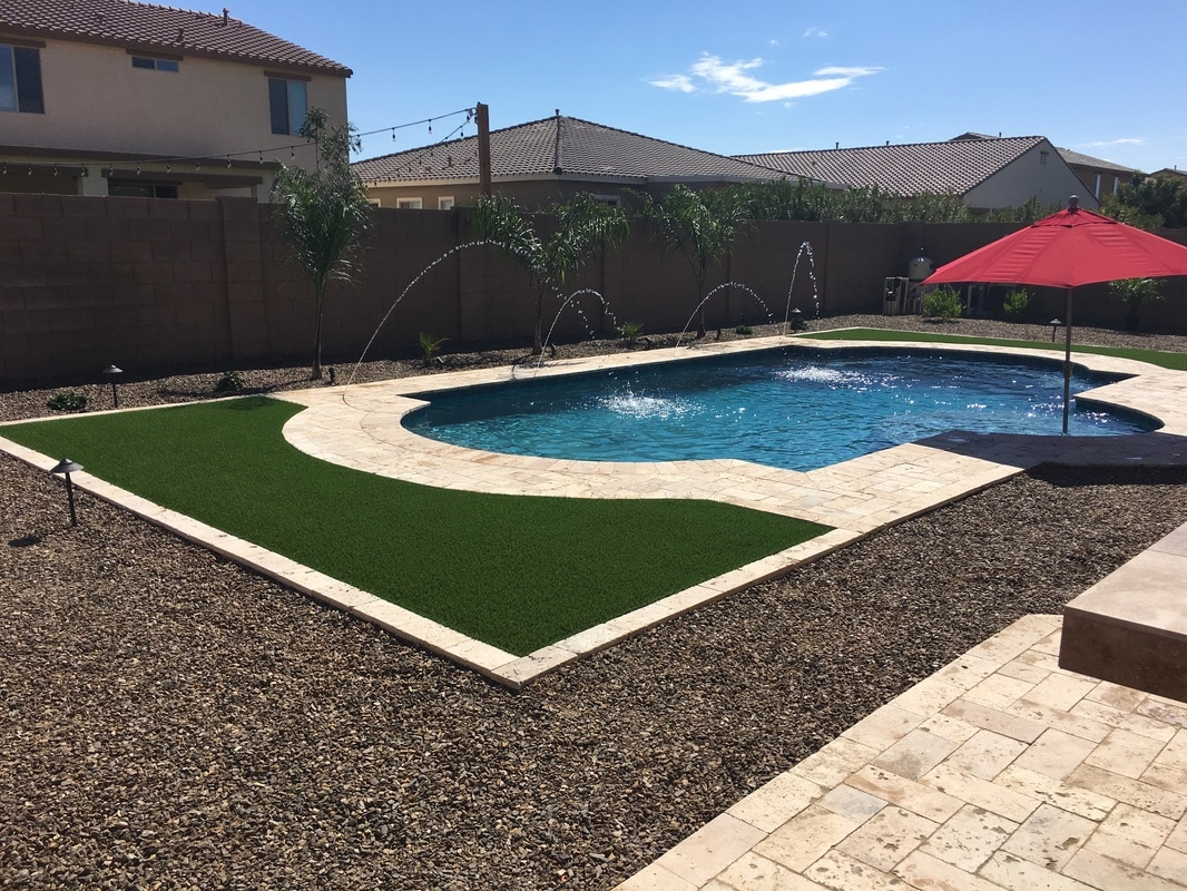 Water features desert soul landesign pools landscape for Arizona pond and pool company