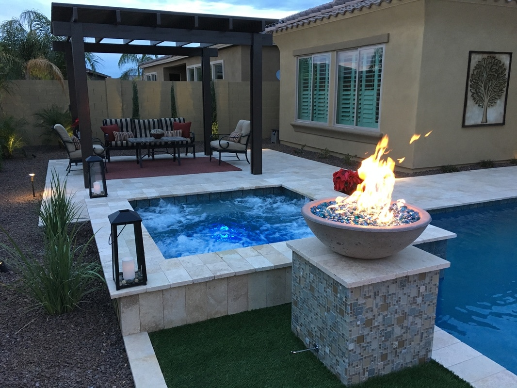 Fire bowls - Pool fire bowls ...
