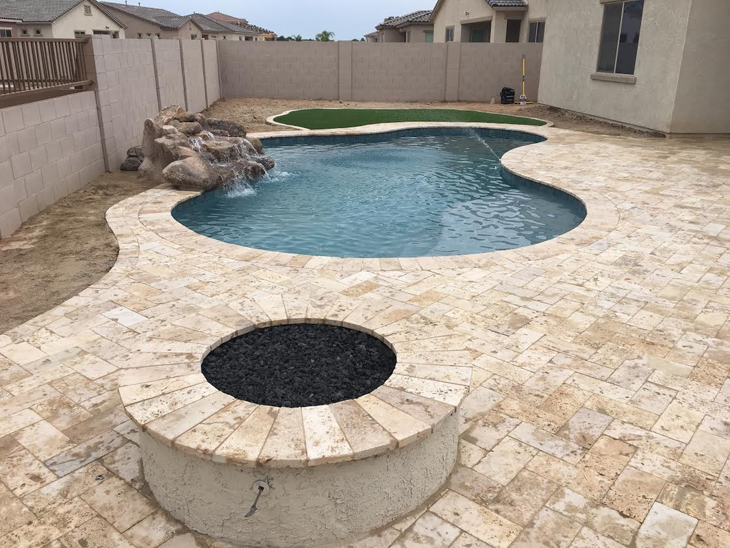 Fire pits for Pool builders queen creek az