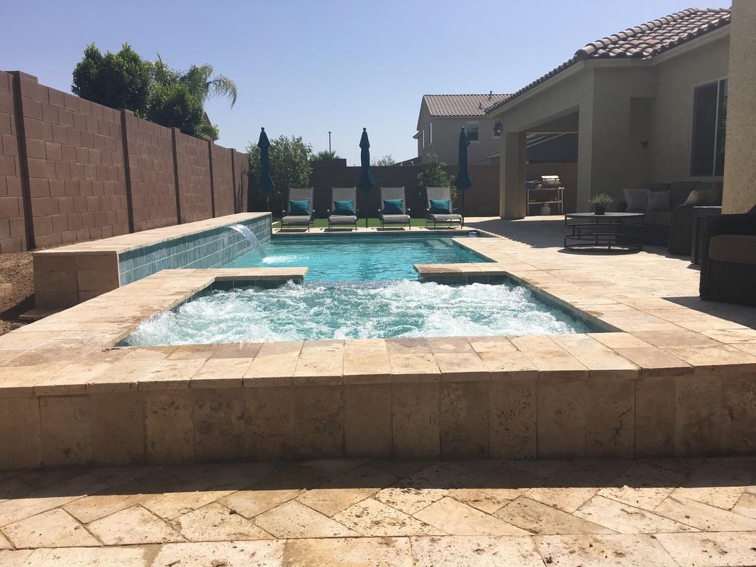 SPAS Desert Soul Landesign Pools Landscape
