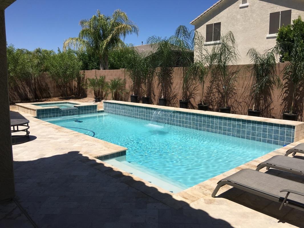 White plaster for Pool builders queen creek az
